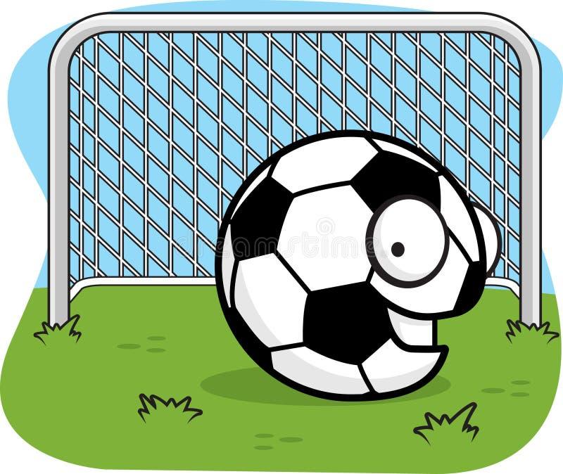 piłka nożna balowa royalty ilustracja