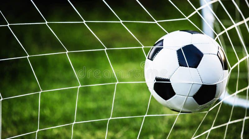 piłka nożna balowy bramkowy wektor zdjęcie stock