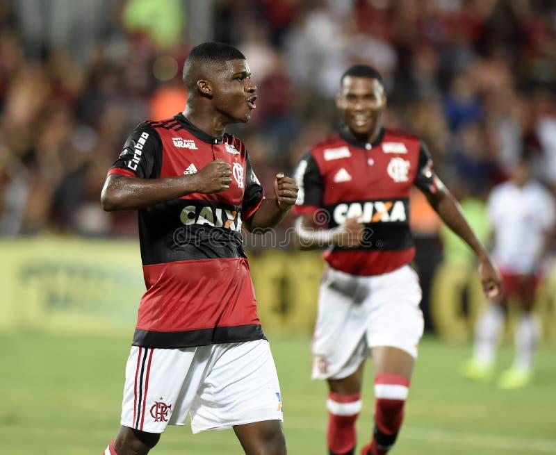 Piłka nożna Flamengo fotografia royalty free