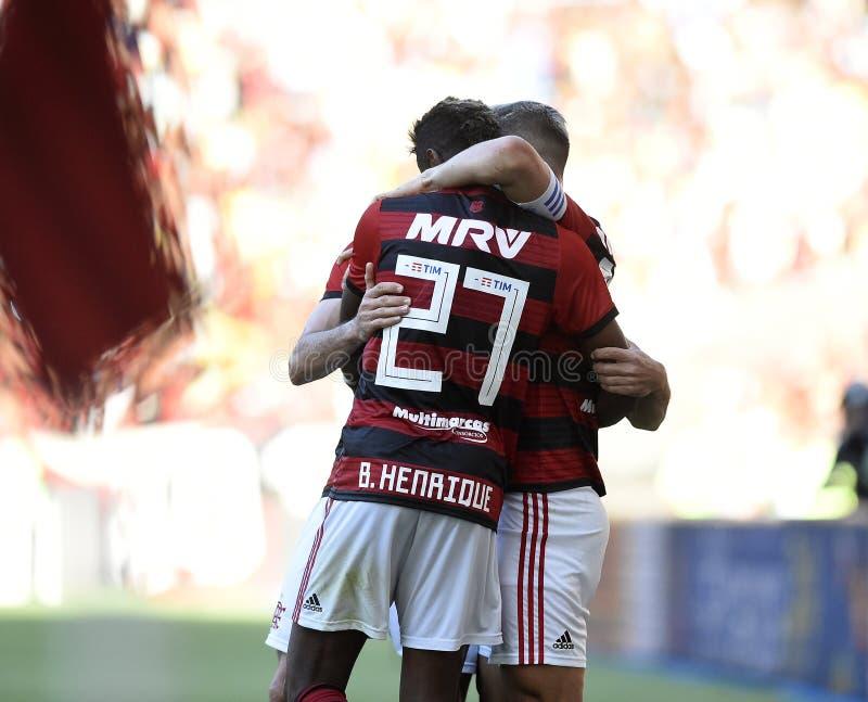 Piłka nożna Flamengo obrazy royalty free