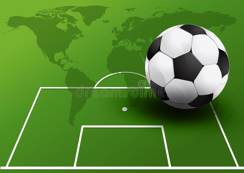 Piłka nożna futbol ilustracji