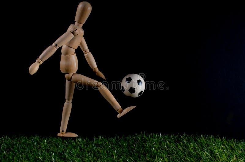 piłka nożna gracza obraz royalty free