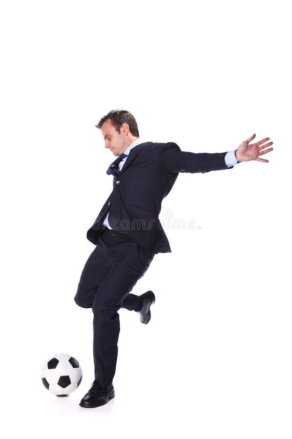 Piłka nożna kierownik zdjęcia stock