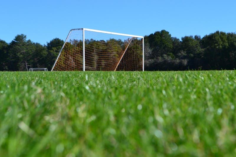 Piłka nożna: Spokój Przed sztuką fotografia stock