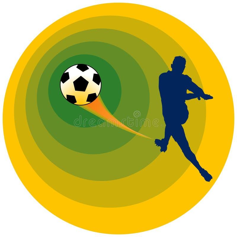 piłka nożna wektora royalty ilustracja