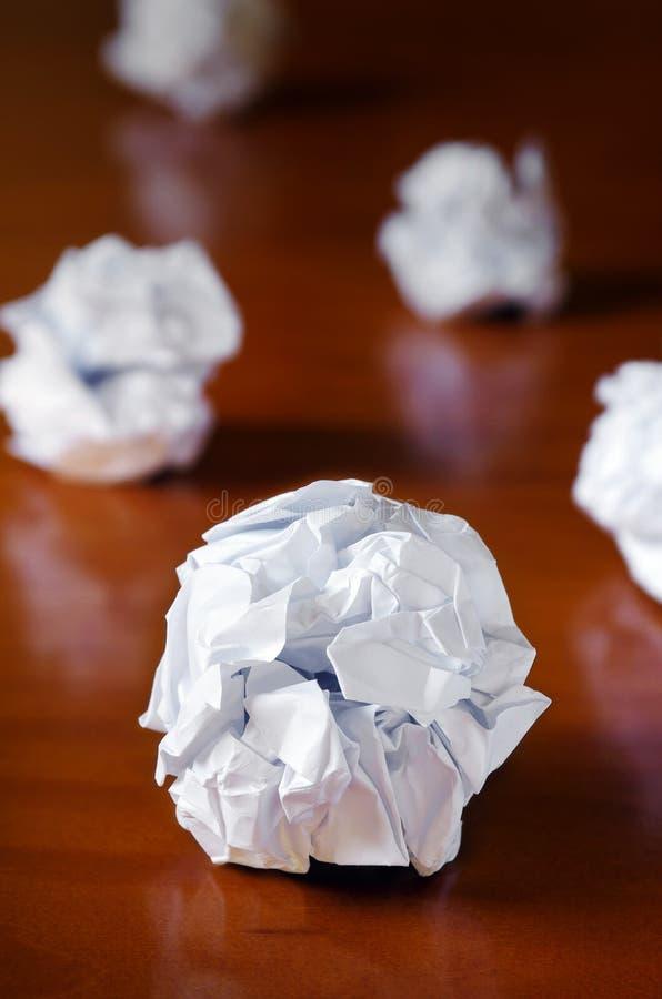 piłka papier zdjęcie stock