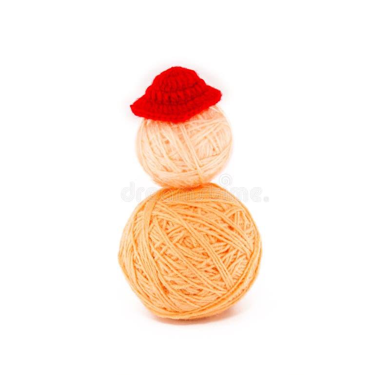 Download Piłka przędza. kapelusz. obraz stock. Obraz złożonej z dzianina - 28970691