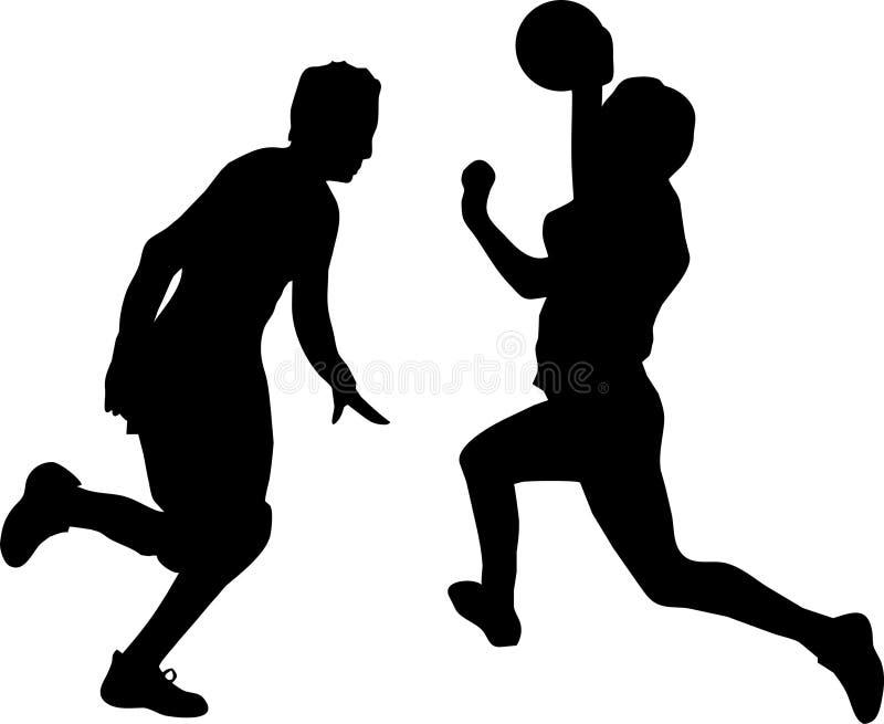 piłka ręczna ilustracja wektor