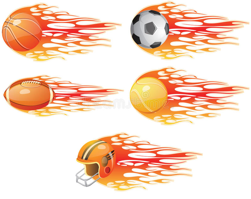 piłka sport royalty ilustracja
