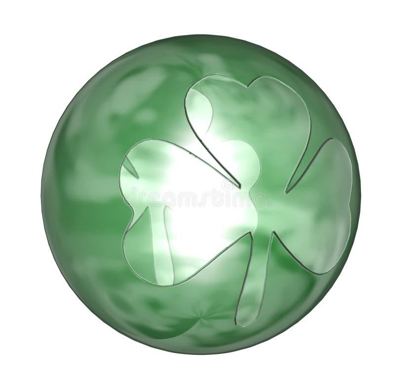 piłka w shamrock ilustracji