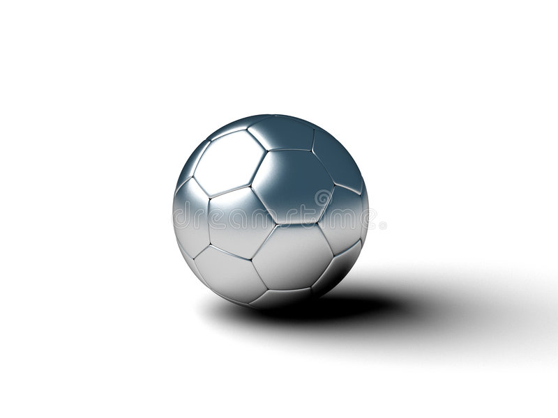 piłka wirtualna royalty ilustracja
