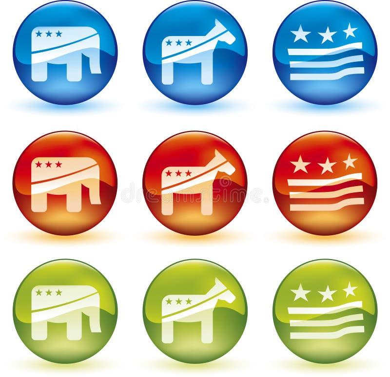 piłka wybory wektora ilustracja wektor
