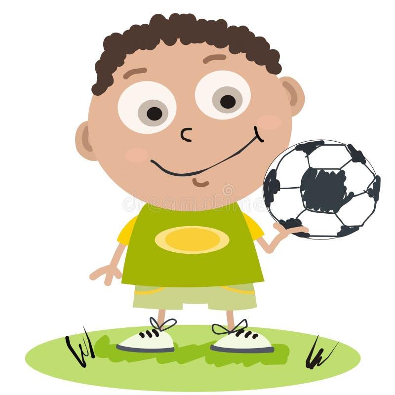 piłkarz ilustracja wektor