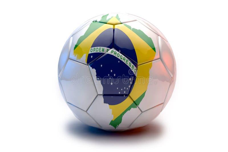 piłki chorągwiany piłki nożnej wektor obraz stock