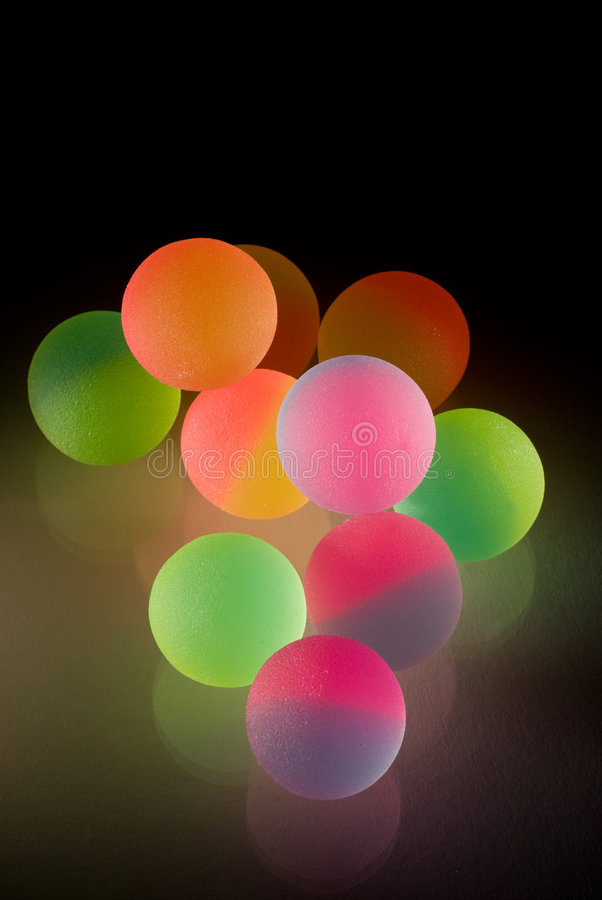 piłki kolorowy elegancki obrazy royalty free