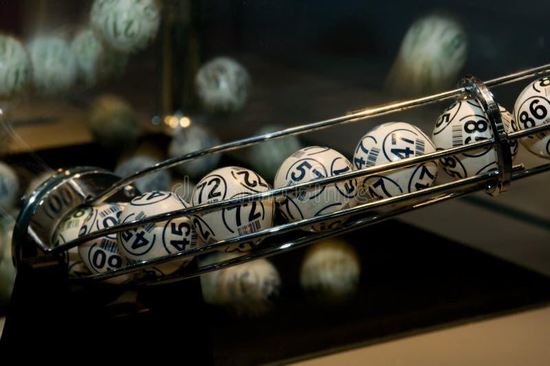 piłki loteryjne zdjęcie stock
