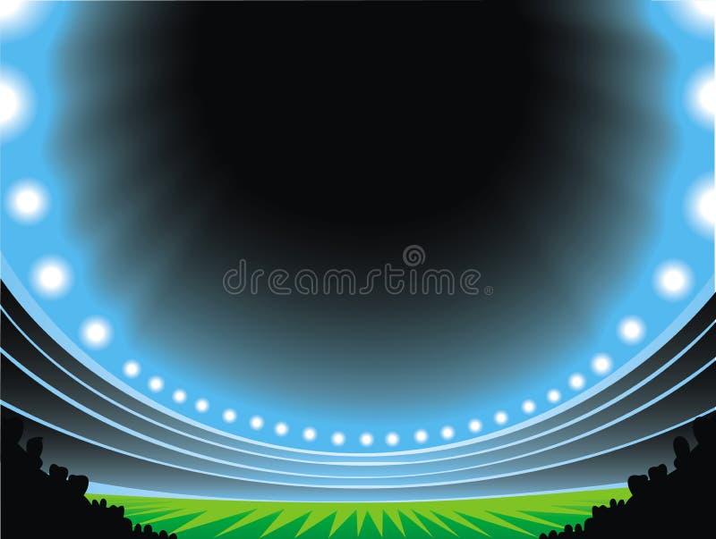 Piłki nożnej arena ilustracji