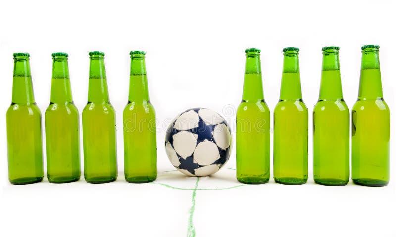 Piłki nożnej drużyna zdjęcie stock