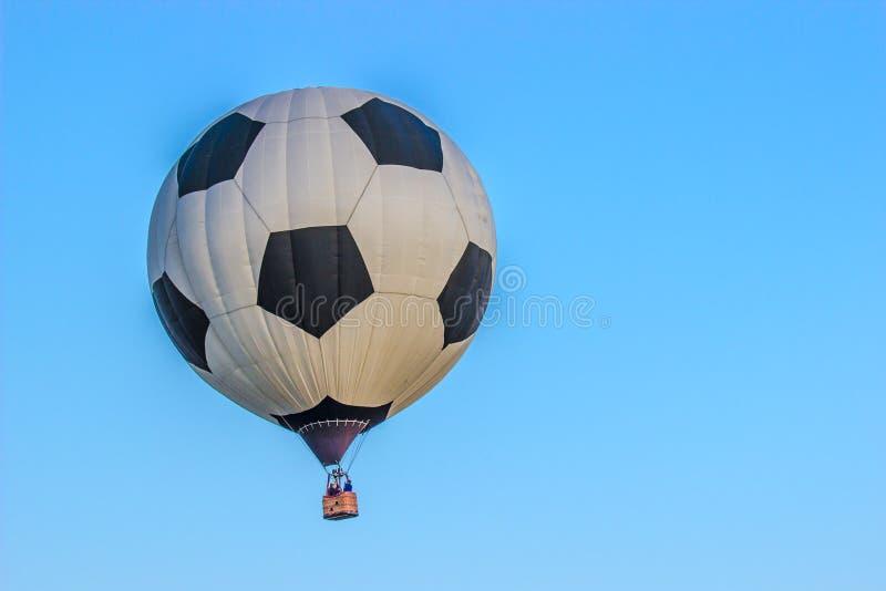 Piłki nożnej piłki gorącego powietrza balon zdjęcia royalty free
