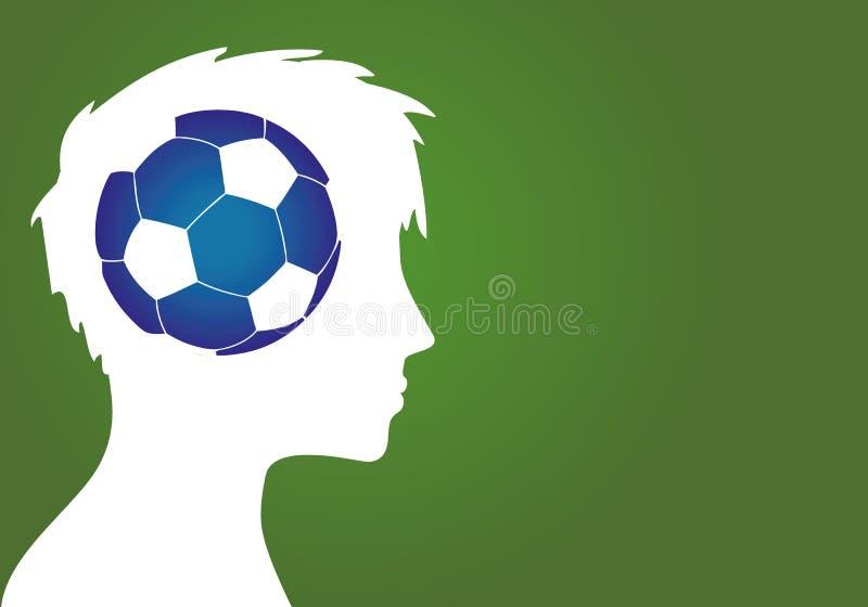 Piłki nożnej kariery sen zdjęcie royalty free