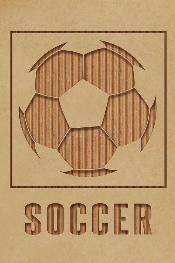 Piłki nożnej pojęcie obrazy stock