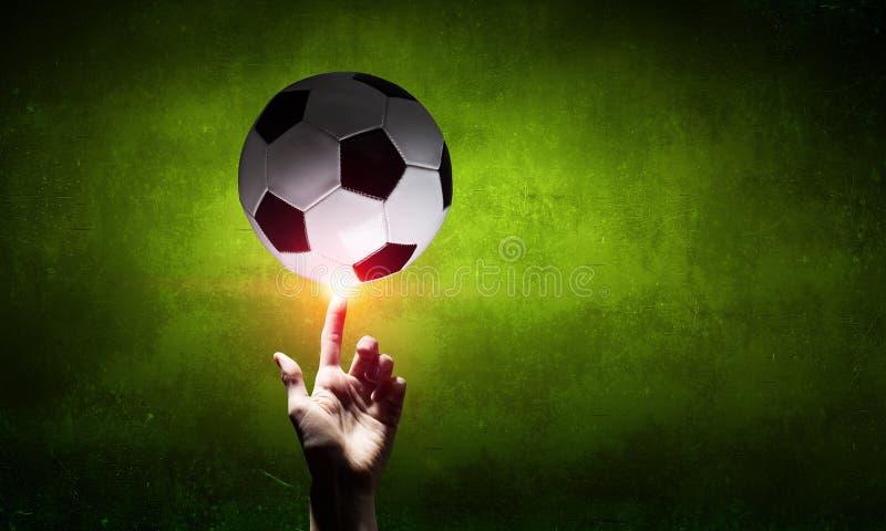 Piłki nożnej piłki pojęcie fotografia stock