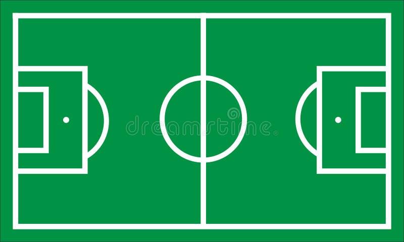 Piłki nożnej smoły ilustracja royalty ilustracja