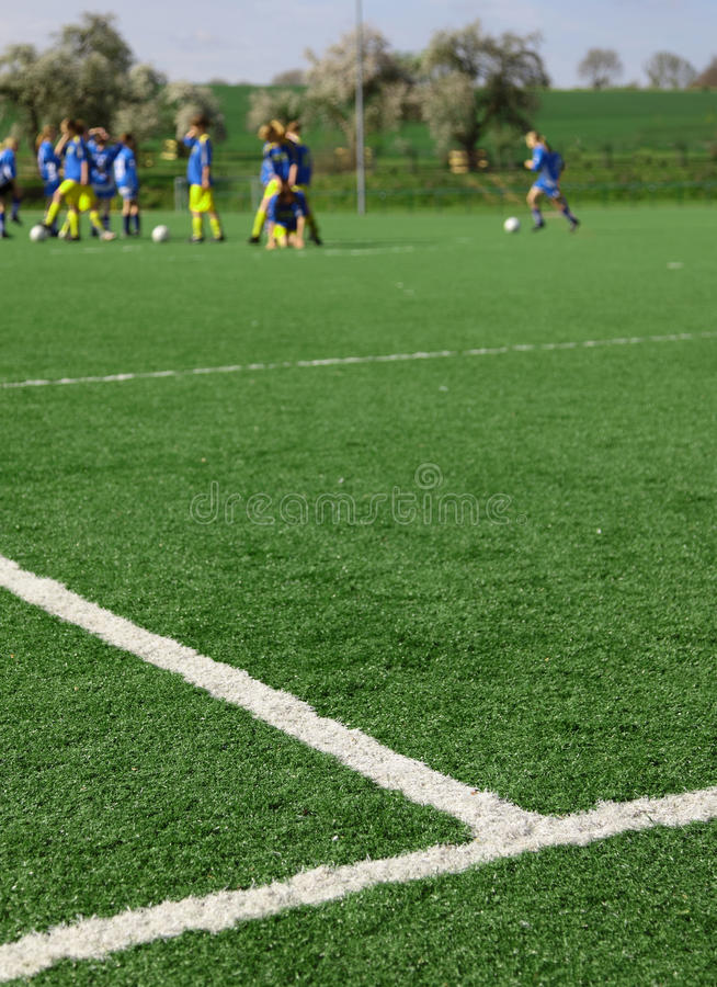 piłki nożnej szkolenie obrazy royalty free