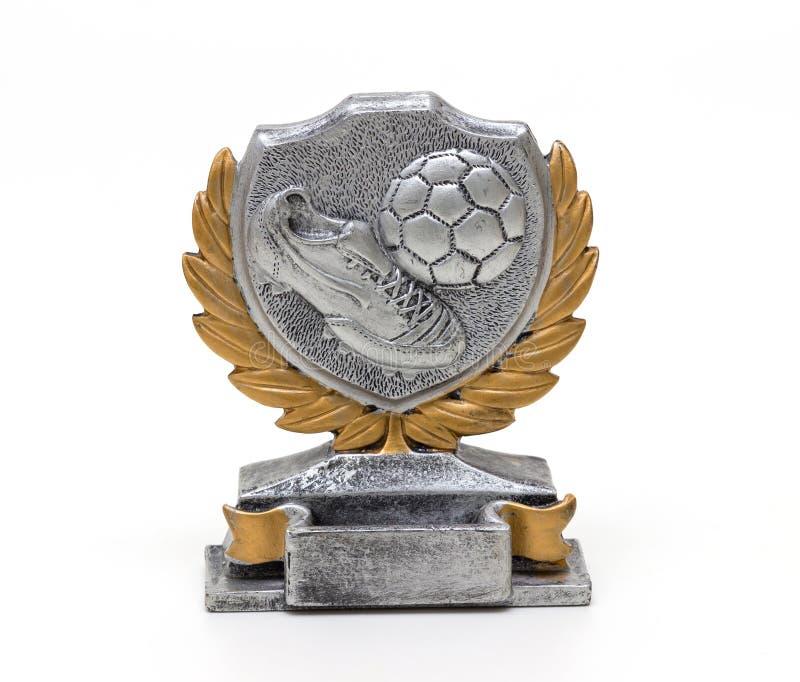 Piłki nożnej trofeum zdjęcie royalty free