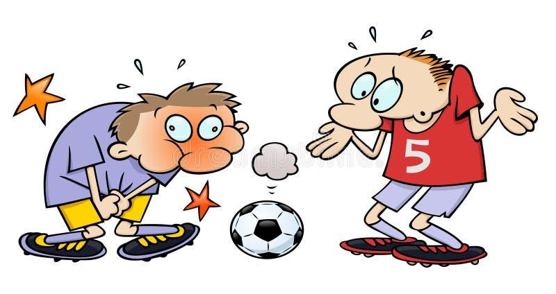 piłki socker royalty ilustracja