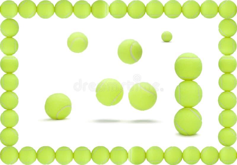 piłki tenisowe royalty ilustracja