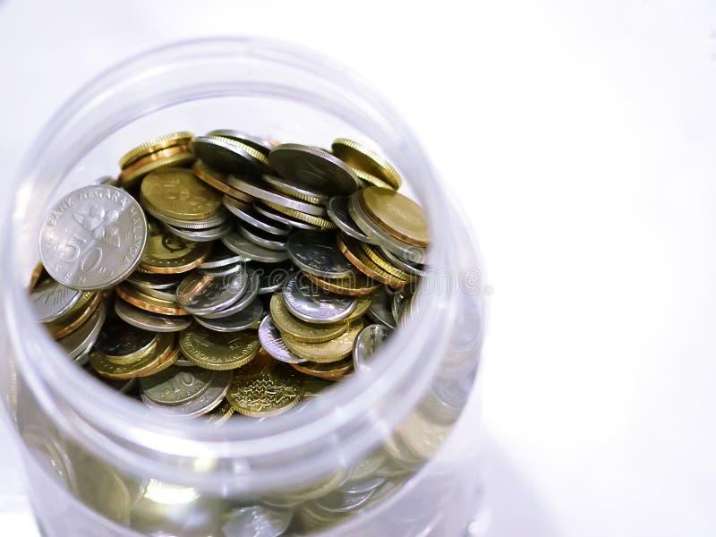 Pi?ces de monnaie malaisiennes photos stock