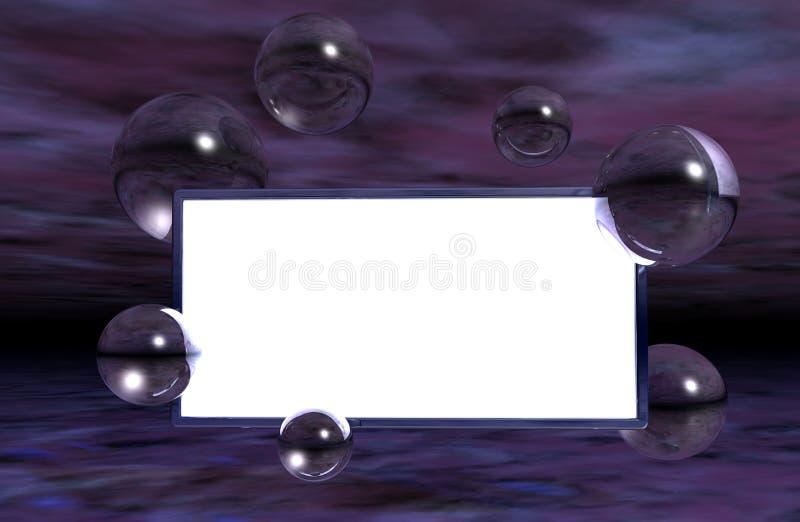 Download Piłki szklane ilustracji. Ilustracja złożonej z etykietka - 13332007