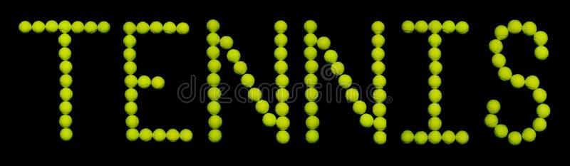 Download Piłki tenisowe obraz stock. Obraz złożonej z yellow, słowo - 207475