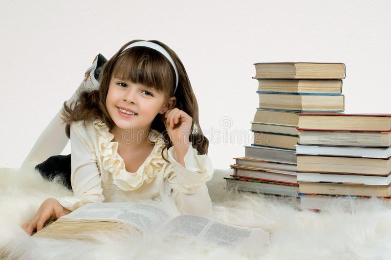 pi?kna dziewczyna troch? fotografia stock