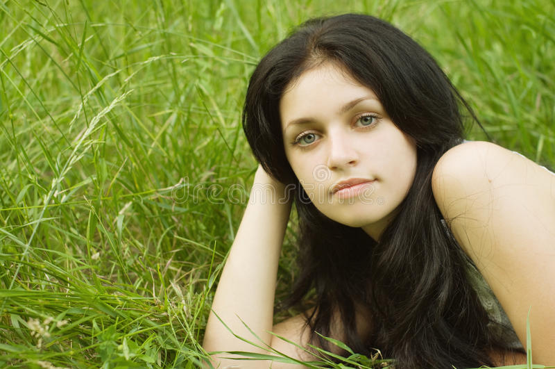Download Piękna gilr zdjęcie stock. Obraz złożonej z piękny, dziewczyna - 10504586