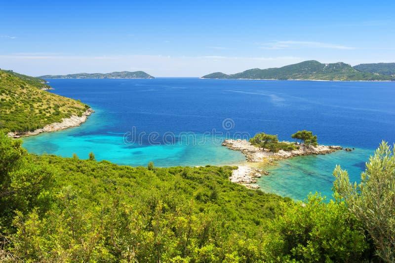 Download Piękna Linia Brzegowa Blisko Dubrovnik W Dalmatia, Chorwacja Obraz Stock - Obraz złożonej z plenerowy, dalmatia: 57671047