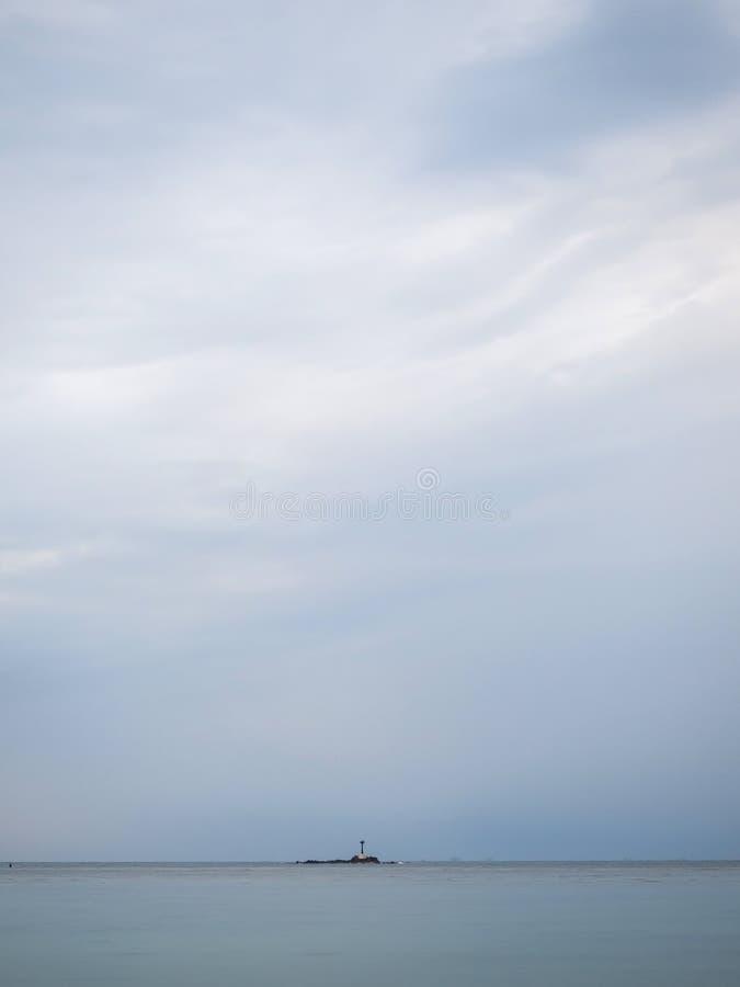 Pi?kne, barwi? chmury przy zmierzchem, zdjęcie stock