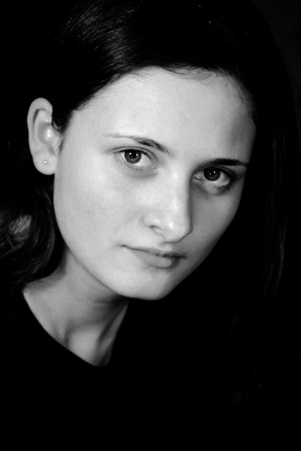 Piękne Dziewczyny Portret Young Zdjęcia Stock