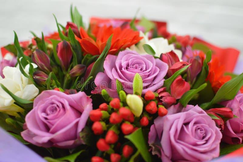 pi?knego bukieta kolorowi kwiaty zdjęcie royalty free