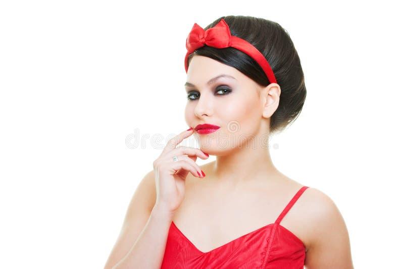 Download Pięknego Portreta Seksowna Kobieta Obraz Stock - Obraz złożonej z dosyć, dorosły: 13342007