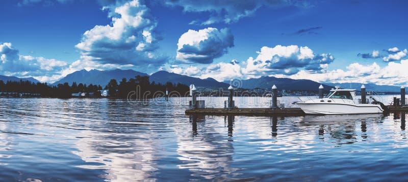 Pi?kni sceniczni g??biki Vancouver i Fraser dolina obrazy stock