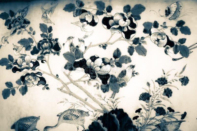 Pi?kny abstrakcjonistyczny niebieskie niebo krajobrazu wzoru t?o i tapeta zdjęcie stock