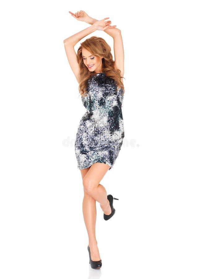 Download Piękny Blondynki Kobiety Taniec Obraz Stock - Obraz: 28809759