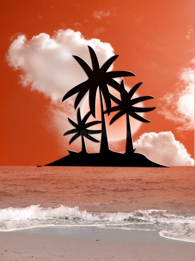 Download Piękny krajobraz ilustracji. Ilustracja złożonej z wiecznotrwały - 13326702