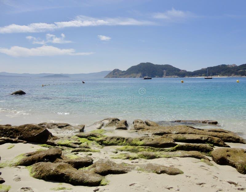 Pi?kny krajobraz naturalny atlantycki raj obraz stock