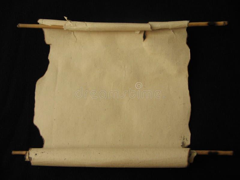 Download Piękny pergamin walcowane zdjęcie stock. Obraz złożonej z palący - 129076