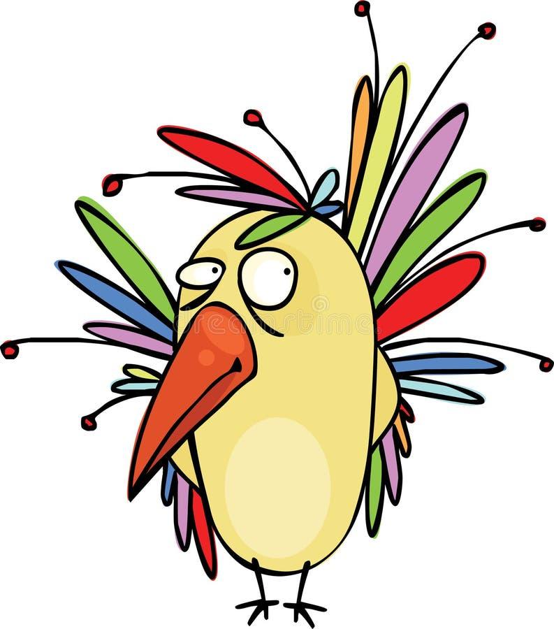 Download Piękny ptasi bardzo ilustracja wektor. Obraz złożonej z bajka - 18657191