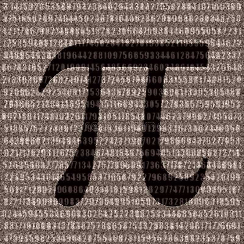 Free Pi Number Royalty Free Stock Photos - 16533128