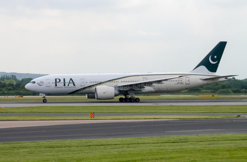 PIA Airlines Boeing 777 arkivfoton